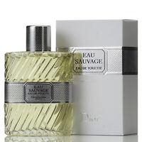 EAU SAUVAGE de CHRISTIAN DIOR - Colonia / Perfume EDT 100 mL Hombre / Man / Uomo