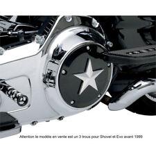 CACHE EMBRAYAGE - JOKER MACHINE - SPORTSTER 2004 A 2014 - NOIR - harley, custom