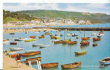 Dorset Postcard - Lyme Regis from The Harbour    XX310