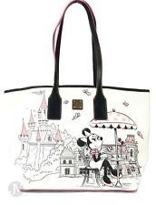 Dooney & Bourke Disney Minnie Mouse Fantasyland Castle Parks Tote Handbag Bag