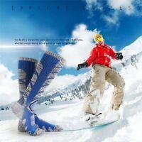 Winter Warm Men Women Thermal Long Ski Socks Thick Cotton Sports Climbing~