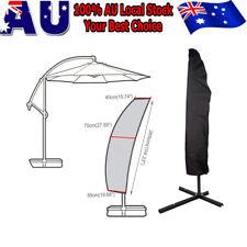Patio Cantilever Umbrella Cover Garden Parasol Sun/Rain/Dust Protection Outdoor