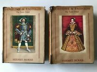 Costume & Fashion Tudor Period Herbert Norris 1938 1st Edition Volume 3 Part 1 2