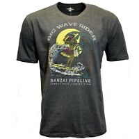 Big Wave Rider Men's T-shirt Island Shores Surf Competition S M L XL XXL NWT