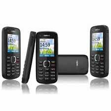 Nokia C1-02 Black (Unlocked) Mobile Phone Cheap Basic Sim Free Genuine UK FAST