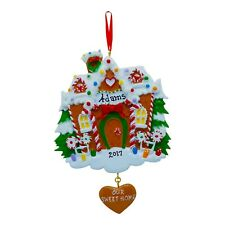 PERSONALIZED Christmas Ornament 2019 Our New Home Gingerbread House Holiday Gift