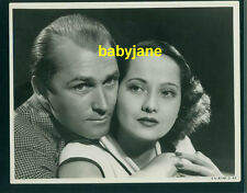 MERLE OBERON BRIAN AHERNE ORIG 8X10 PHOTO BY KENNETH ALEXANDER 1936 BELOVED ENEM