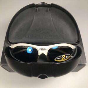New Rudy Project Rydon Sunglasses White/Blue Lenses