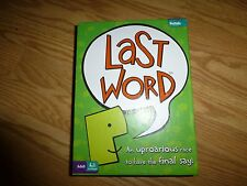 Last Word Game a Buffalo Game