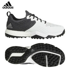 ADIDAS 4ORGED S MENS GOLF SHOES, UK SIZE 9 WIDE - B37173 - WHITE/BLACK