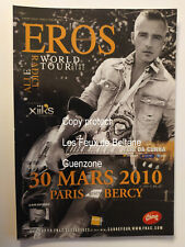 EROS RAMAZOTTI WORLD TOUR ALLE RADICI 2009  carte postale