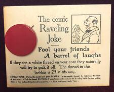 Vintage SS Adams The Comic Raveling Joke