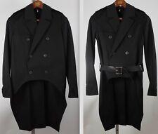 Dior Homme sz 44 / US 34 3EF1031584 black tailcoat tuxedo jacket