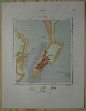 1882 Perron map MACAU / MACAO, CHINA (#97)