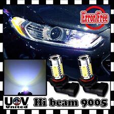 6K CREE LED 2 x HB3 9005 Canbus Error Free Headlight Bulbs DRL High Beam Decoder