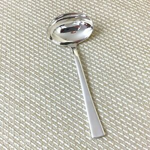 Christofle Concorde Silver Plated Sauce Ladle Gravy Serving Spoon French Cutlery
