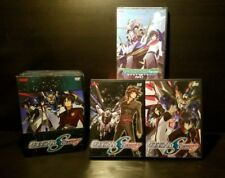 Lot of 3x Gundam 00 Double O Part 1 & Gundam Seed Destiny #7 & 12 Anime DVDs