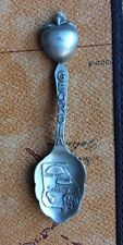 Vintage GEORG Collectible Pewter Spoon