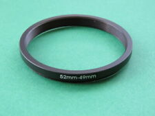 52mm to 49mm Stepping Step Down Male-Female Lens Filter Ring Adapter 52mm-49mm