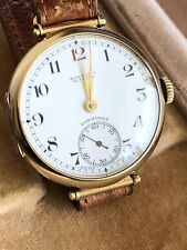 Longines WW2 officier Or 9ct