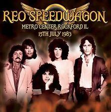 REO SPEEDWAGON - METRO CENTER ROCKFORD IL, 15th JULY 1983 (New & Sealed) CD Live
