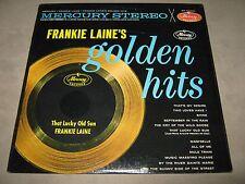 FRANKIE LAINE's Golden Hits RARE 1st Stereo Pr. SS SEALED Vinyl LP 1960 SR 60587