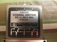 HP-Agilent-Keysight 33313C 2.92mm 5 port coaxial switch 24V Latching DC-26.5GHz