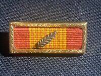 ORIGINAL Vietnam Gallantry Cross Unit Citation Ribbon with palm & large frame