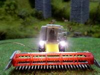 KIBRI 1900 CLAAS LEXION Mähdrescher mit Scheinwerfern BELEUCHTET Spur N C412