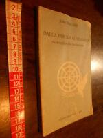 LIBRO:John Main OSB DALLA PAROLA AL SILENZIO VIA SEMPLICE ALLA MEDITAZIONE