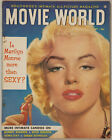 Vintage September 1953 Movie World Magazine Marilyn Monroe More than Sexy Cover