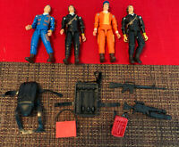 """Vintage 1983 The A-Team 3 3/4"""" Action Figures With Accessories & Weapons Galoob"""