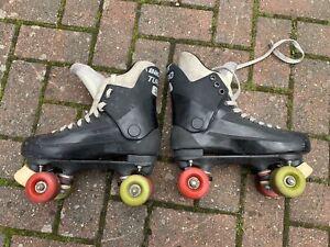 bauer turbo 33 Roller Skates Size 7 Uk 8 Us Genuine Original