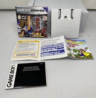 Yu-Gi-Oh! The Eternal Duelist Soul, Game Boy Advance, Box Manual Inserts No Game