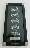 HARLEY DAVIDSON 2007 Heritage Collection Motorcycles of the 1980's Shadowbox MIB