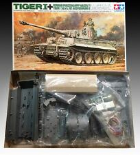 Tamiya 1/35 Tiger I Ausf E. Vintage Remote Control Model Kit #MT-26 (1970)
