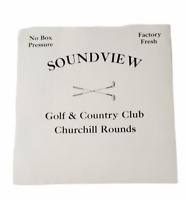 Soundview Golf & Country Club Churchill Rounds Cigar Box Label
