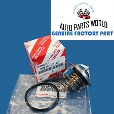 GENUINE TOYOTA 4RUNNER TUNDRA SEQUOIA GS GX LS SC V8 COOLANT THERMOSTAT W/GASKET
