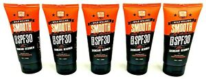 5 Tubes Wild Willies Smooth Daily Moisturizer SPF 30 Mens Skincare Regimen 5 oz