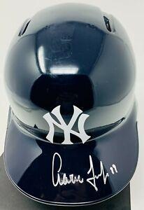 NY Yankees Aaron Judge Signed Rawlings Batting Helmet Fanatics MLB Hologram