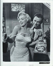 PHOTO FILM DE BILLY WILDER THE SEVEN YEAR ITCH CH MARILYN MONROE ET TOM EWEL