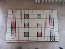 Vtg 1937 Porcelain Enamel Table Top~ Art Deco by PORCELIRON by Ingram Richardson