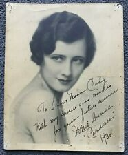 IRENE DUNNE SIGNED AUTOGRAPHED PHOTO. CIMARRON. THE AWFUL TRUTH. ROBERTA. RKO.