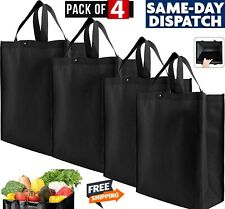 Brand New Ounce  Reusable Shopping Grocery Bag Tote (4 Pack)