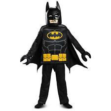 NEW Batman LEGO Movie Deluxe 6PC Costume Kids size S 4/6 Licensed Disguise