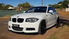 BMW 135i front lip splitter abs plastic kerscher copy KSB autostyling made in UK