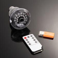 HD Hidden WIFI Real Light Bulb SPY Hidden Camera Motion Detection IR Vision Cam