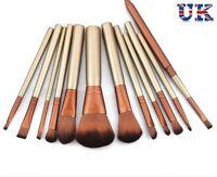 Professional 12pcs Kabuki Make up Brush Set Foundation Blusher Eyeshadow Tools