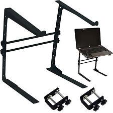 Dj/pa Compacto portátil platform-adjustable Table Top bracket-mixer Mac Air Stand