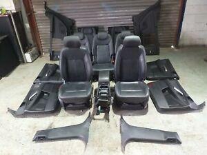 FORD GALAXY TITANIUM X 2010-2015 COMPETE LEATHER INTERIOR TRIM SEATS SET